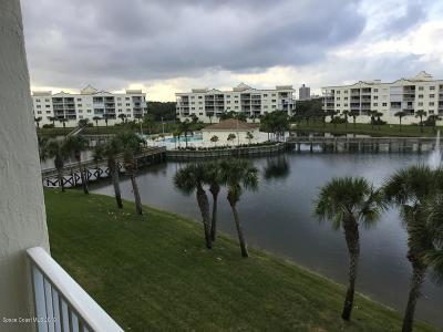 Cape Canaveral Condo For Sale: 8871 Lake Drive #G404