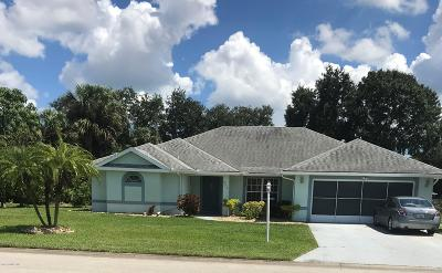 Palm Bay Single Family Home For Sale: 923 Sierra Place NE