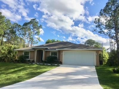 Palm Bay Single Family Home For Sale: 279 Wilton Avenue SW