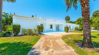 Indialantic Single Family Home For Sale: 599 Seabreeze Drive