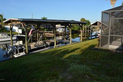 Merritt Island Single Family Home For Sale: 1565 W Central Avenue