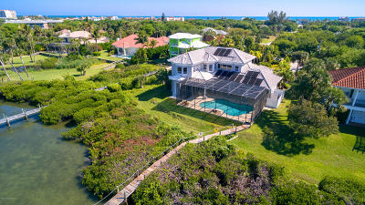 Melbourne Beach Single Family Home For Sale: 170 Bayshore Drive