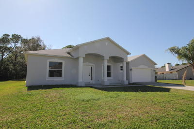Palm Bay Single Family Home For Sale: 1424 Hero Street SE