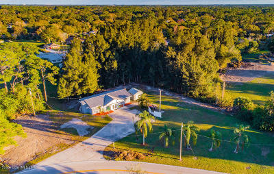 Melbourne FL Single Family Home For Sale: $330,000