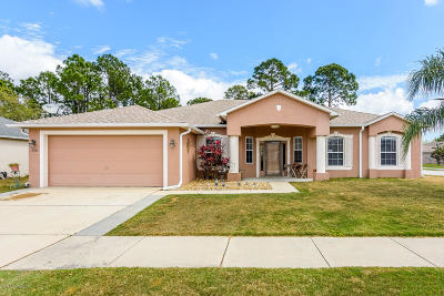 Cocoa Single Family Home For Sale: 5781 Cinnamon Fern Boulevard