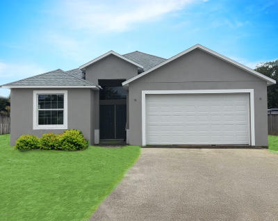 Merritt Island FL Single Family Home For Sale: $299,900