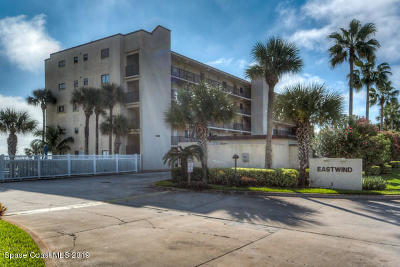 Satellite Beach, Port Canaveral, Melbourne Beach, Cape Canaveral, Cocoa Beach, Indialantic, Indian Harbour Beach Condo For Sale: 1455 Highway A1a #408