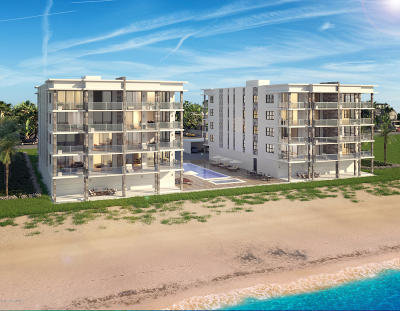 Satellite Beach, Port Canaveral, Melbourne Beach, Cape Canaveral, Cocoa Beach, Indialantic, Indian Harbour Beach Condo For Sale: 2795 N Highway A1a #203
