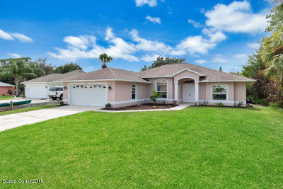 Sebastian Single Family Home For Sale: 1557 Quatrain Lane