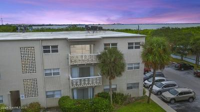 Satellite Beach, Port Canaveral, Melbourne Beach, Cape Canaveral, Cocoa Beach, Indialantic, Indian Harbour Beach Condo For Sale: 223 Columbia Drive #208