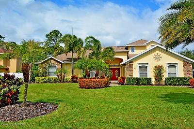 Palm Bay FL Single Family Home For Sale: $539,900