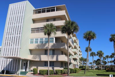 Satellite Beach, Port Canaveral, Melbourne Beach, Cape Canaveral, Cocoa Beach, Indialantic, Indian Harbour Beach Condo For Sale: 2020 N Atlantic Avenue #302 N