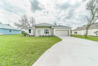 Palm Bay FL Single Family Home For Sale: $279,000