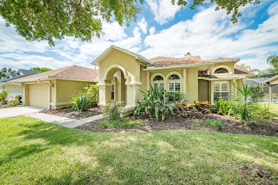 Titusville Single Family Home For Sale: 3868 Wethersfield Circle