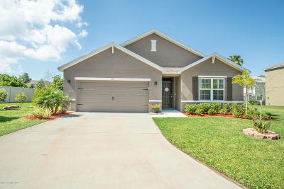 Rockledge Single Family Home For Sale: 1125 Swiss Pointe Lane