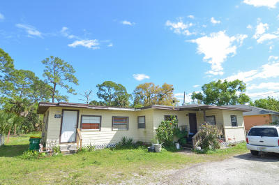 Cocoa Single Family Home For Sale: 310 Pine Avenue