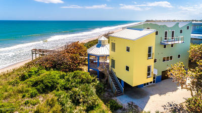 Melbourne Beach Single Family Home For Sale: 4515 S Highway A1a
