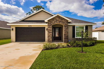 Titusville Single Family Home For Sale: 2651 Ivory Way