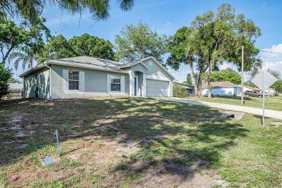 Cocoa Single Family Home For Sale: 4600 Sugartown Street