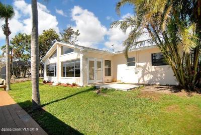 Cocoa Beach Single Family Home For Sale: 339 Carmine Drive