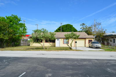 Cocoa Single Family Home For Sale: 1606 Terrace Street
