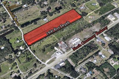 Merritt Island Residential Lots & Land For Sale: Road