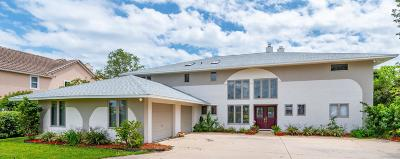 Cocoa Beach, Melbourne, Titusville, Viera Single Family Home For Sale: 421 S Banana River Boulevard