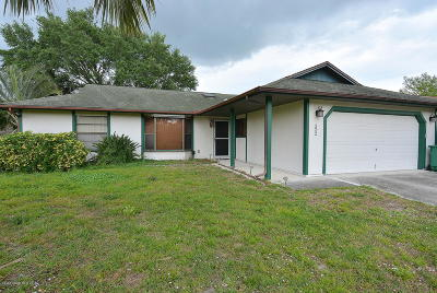 St. Lucie County Single Family Home For Sale: 522 NW Turton