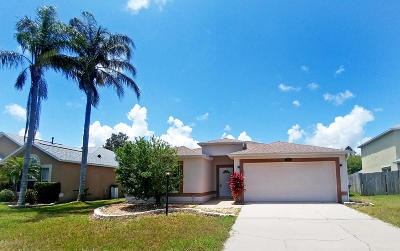 Rockledge Single Family Home For Sale: 3903 Upmann Drive E