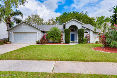 Rockledge Single Family Home For Sale: 928 Osprey Lane
