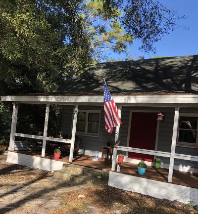 Cocoa Single Family Home For Sale: 5525 Fan Palm Avenue