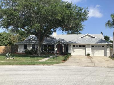 Merritt Island Single Family Home For Sale: 4680 Comanche Trail