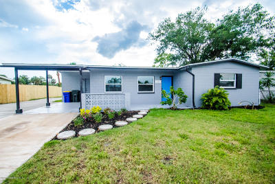 Rockledge Single Family Home For Sale: 1281 Estridge Drive