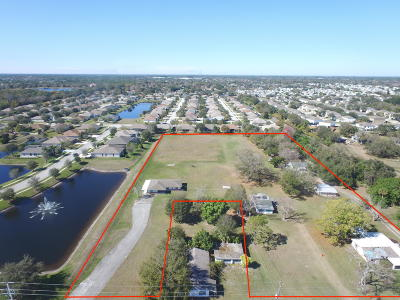 Melbourne Residential Lots & Land For Sale: 3030 3040, 3050 & 3090 Dairy Road