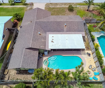 Satellite Beach Single Family Home For Sale: 765 Atlantic Drive