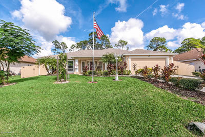 Palm Bay Single Family Home For Sale: 1871 Bashaw Street NW