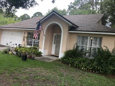 Cocoa Single Family Home For Sale: 5320 Falcon Boulevard