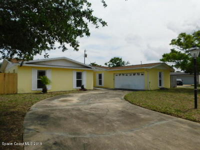 Merritt Island FL Single Family Home For Sale: $185,000