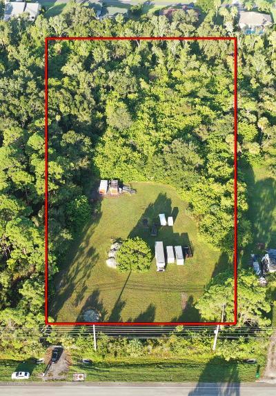 Merritt Island Residential Lots & Land For Sale: 4615 N. Courtenay Parkway