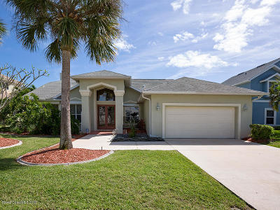 Merritt Island Single Family Home For Sale: 1971 Sykes Creek Drive NE