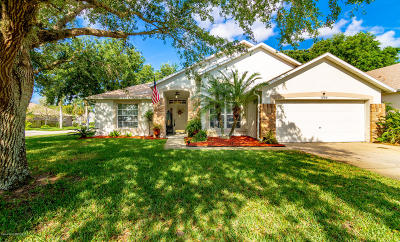 Merritt Island Single Family Home For Sale: 1900 Worchester Way