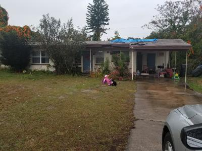 Titusville Single Family Home For Sale: 870 Cleveland Street