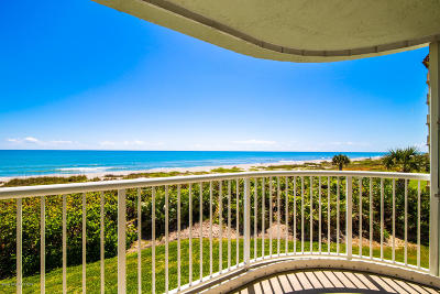 Cocoa Beach Condo For Sale: 3031 S Atlantic Avenue #201