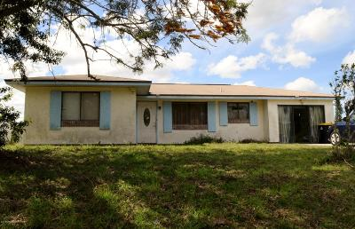 Palm Bay Single Family Home Contingent: 1599 Painter Street SE