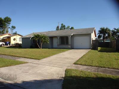 Sebastian Single Family Home For Sale: 267 Manly Avenue