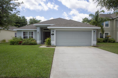 Titusville Single Family Home For Sale: 447 Mason Drive