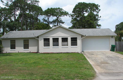 Cocoa Single Family Home For Sale: 5210 Holden Road
