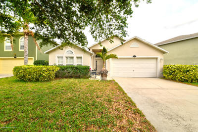 Titusville Single Family Home For Sale: 3284 Moe Norman Court