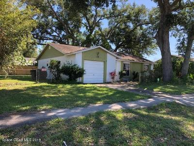 Titusville Single Family Home For Sale: 3645 Valley Forge Drive
