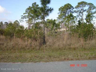 Brevard County Residential Lots & Land For Sale: 2856 Grant Ave Avenue SE